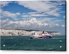 Crossing The English Channel Acrylic Print by Tim Stanley