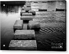 Crossing The Kamo River Acrylic Print by Dean Harte