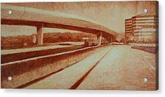 Crossroads Acrylic Print by Jeff Levitch