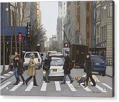 Crosswalk Acrylic Print