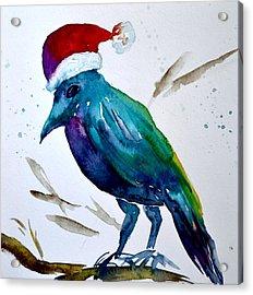 Crow Ho Ho Acrylic Print
