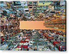 Crowded Spaces Acrylic Print