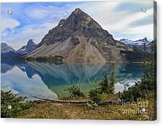 Crowfoot Mountain Banff Np Acrylic Print