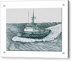 Crowley Tugboat Ocean Going Gladiator Acrylic Print