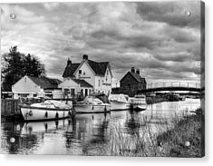 Crown And Anchor Acrylic Print