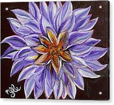 Crown Chakra Acrylic Print