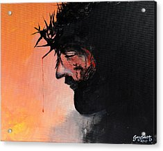 Blood Of The Redeemer Acrylic Print by Gary Smith