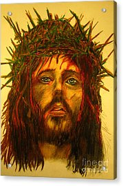 Crown Of Thorns Acrylic Print by John Malone