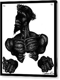 Crown Of Throns Acrylic Print by Cipherus Lee