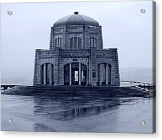 Crown Point - Vista House Acrylic Print by HW Kateley