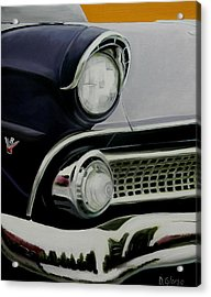 Crown Vic Acrylic Print