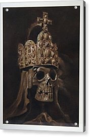Crowned Death Acrylic Print