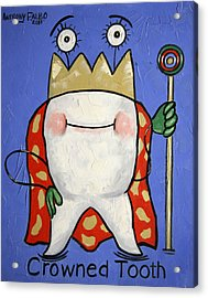 Crowned Tooth Acrylic Print