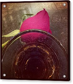 #crownroyal #rose #tgif Acrylic Print