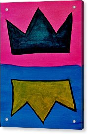 Crowns Acrylic Print