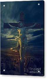 Crucifixcion Acrylic Print