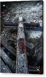 Crucifixion Acrylic Print by Margie Hurwich