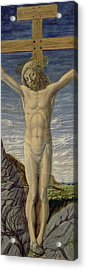 Crucifixion  Acrylic Print by Master of the Barberini Panels