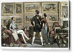 Cruikshank Tailor, 1820 Acrylic Print by Granger