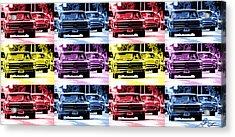 Cruise Pop 1 Acrylic Print by Gordon Dean II