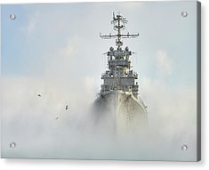 Cruiser Ghost Acrylic Print by Dmitry Nesvetaylov