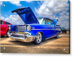 Cruisin' In Blue Acrylic Print