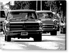 Cruisin' Woodward Acrylic Print by Gordon Dean II