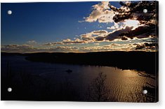 Cruising Into The Sunset Acrylic Print by Stephen Melcher