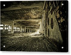 Acrylic Print featuring the photograph Crumbling History by Priya Ghose