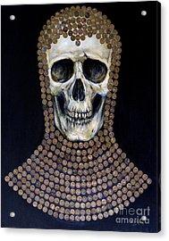 Crusader Acrylic Print by Arturas Slapsys