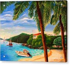 Cruzin' In The Bay Acrylic Print by Shelia Kempf