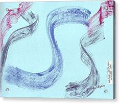 Cry Of Street Acrylic Print by Mirfarhad Moghimi