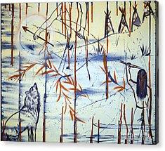 Cry Peace Acrylic Print