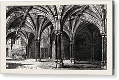 Crypt Of The Guildhall London Uk Acrylic Print