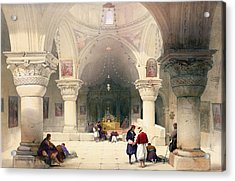 Crypt Of The Holy Sepulchre Acrylic Print
