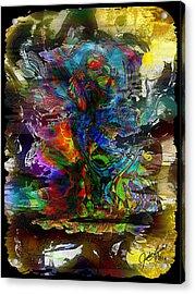 Cryptic Acrylic Print