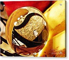 Crystal Ball Project 113 Acrylic Print by Sarah Loft