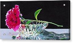 Crystal Beauty Acrylic Print by Arlene Steinberg
