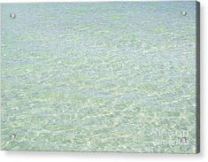 Crystal Clear Atlantic Ocean 2 Key West Acrylic Print