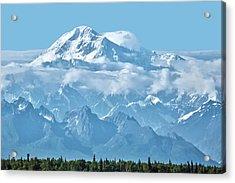 Crystal Clear Mt. Mckinley Acrylic Print