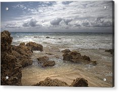 Crystal Cove Beach Acrylic Print by Sharon Beth