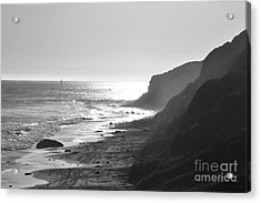 Crystal Cove I Acrylic Print by Suzette Kallen