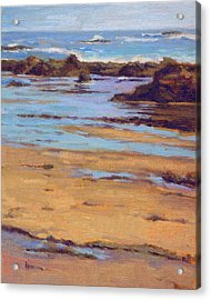 Acrylic Print featuring the painting Crystal Cove by Konnie Kim