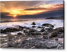 Crystal Cove State Park Acrylic Print by Eddie Yerkish
