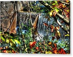 Crystal Lake Falls Acrylic Print