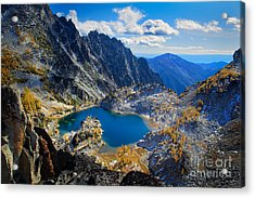Crystal Lake Acrylic Print by Inge Johnsson
