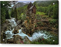Crystal Mill Riverside Acrylic Print