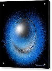 Crystal Moon Acrylic Print