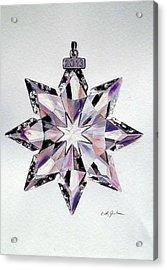 Crystal Ornament Acrylic Print