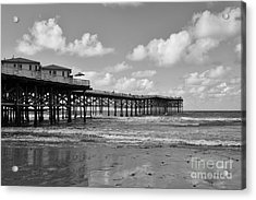 Crystal Pier In Pacific Beach Acrylic Print